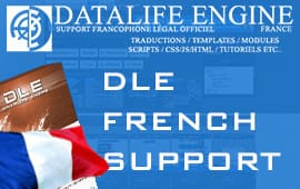 DataLife Engine French Support